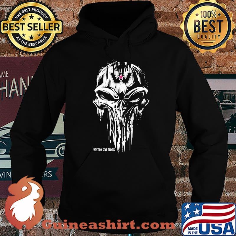 Punisher With Western Star Trucks Shirt Hoodie