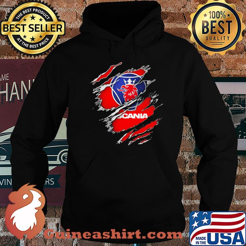 Official Hero With Scania Logo Shirt Hoodie