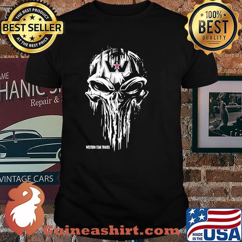 Punisher With Western Star Trucks Shirt