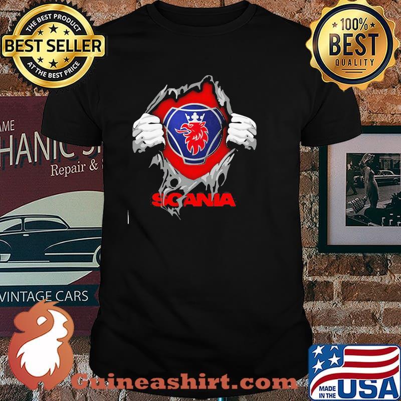 Superhero With Logo Scania Shirt