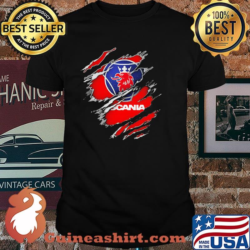 Official Hero With Scania Logo Shirt