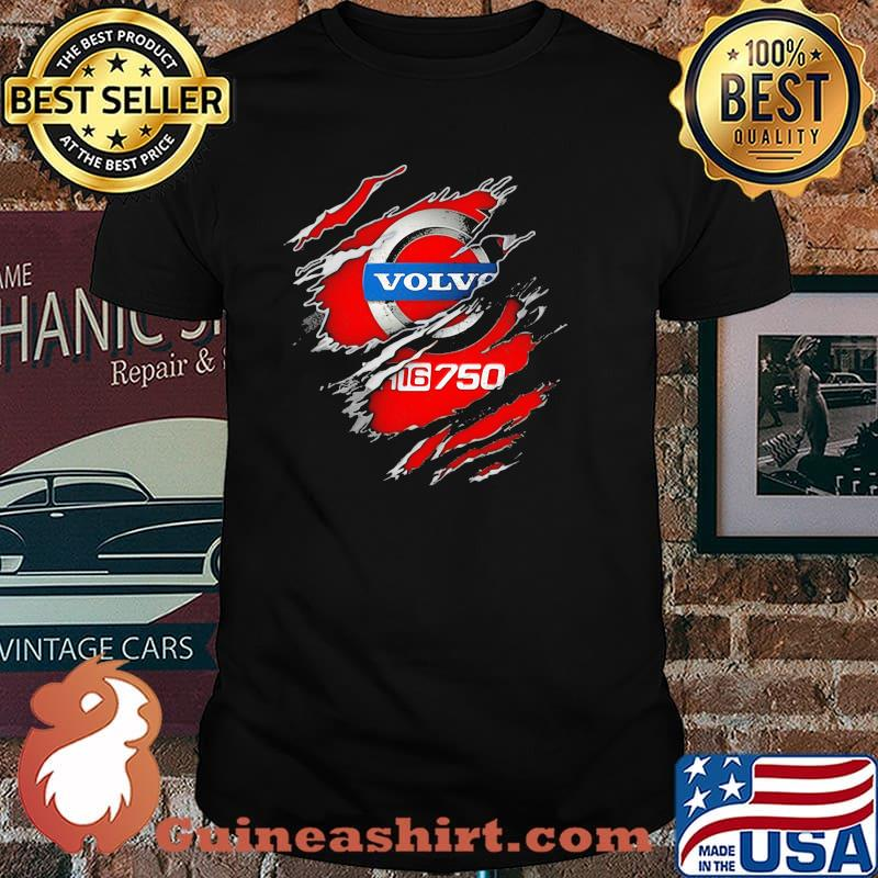 Official Hero With Volvo Fh16 750 Logo Shirt