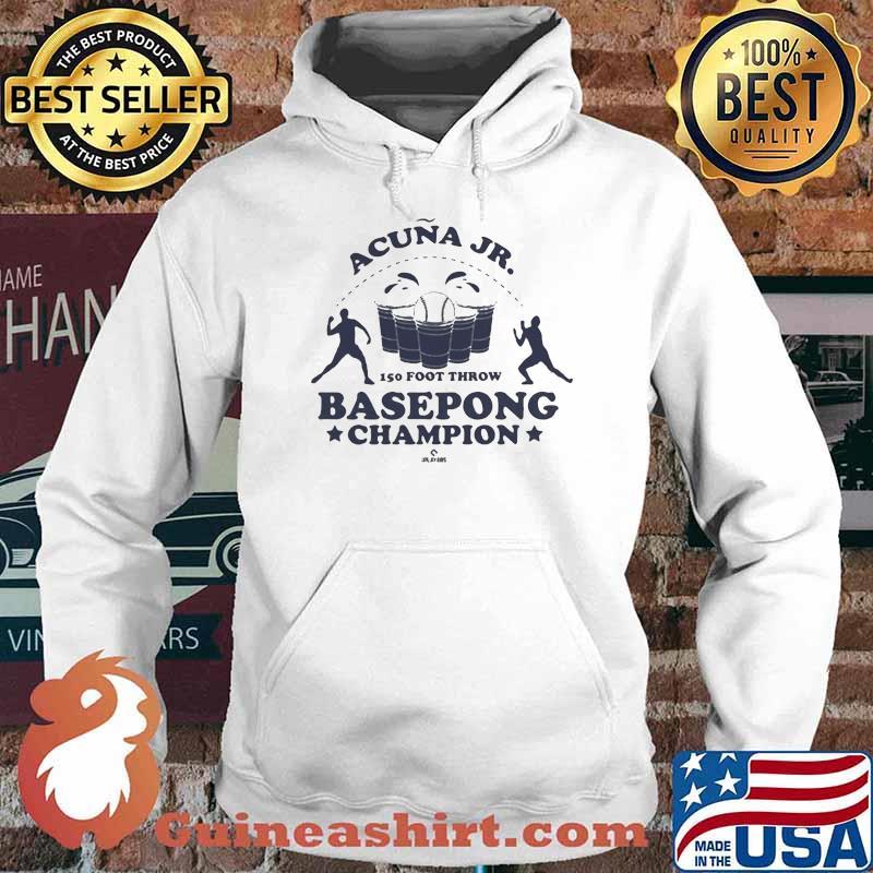 Acuña Jr. Basepong Champion Shirt Hoodie