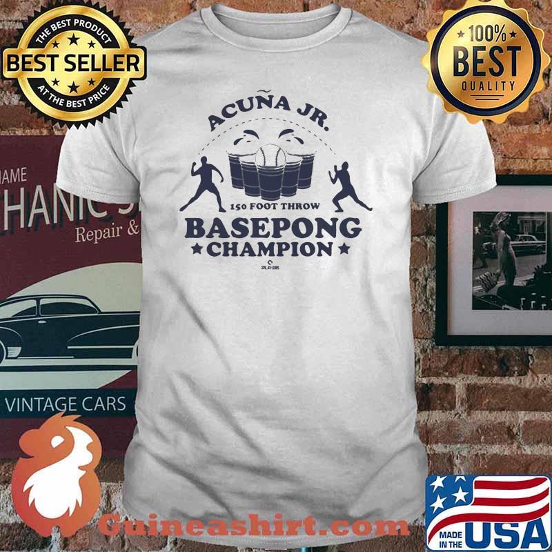 Acuña Jr. Basepong Champion Shirt