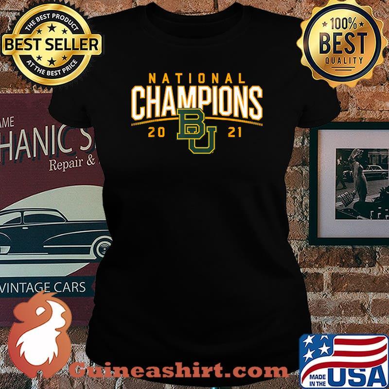 Baylor National Champions 2021 Shirt Laides tee