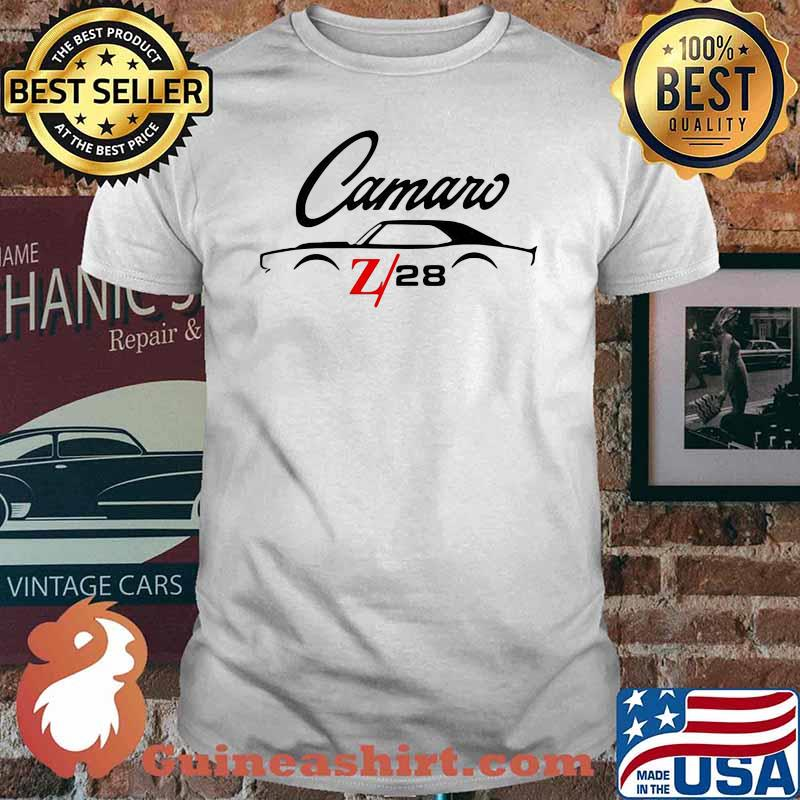 Camaro Z28 Car Shirt