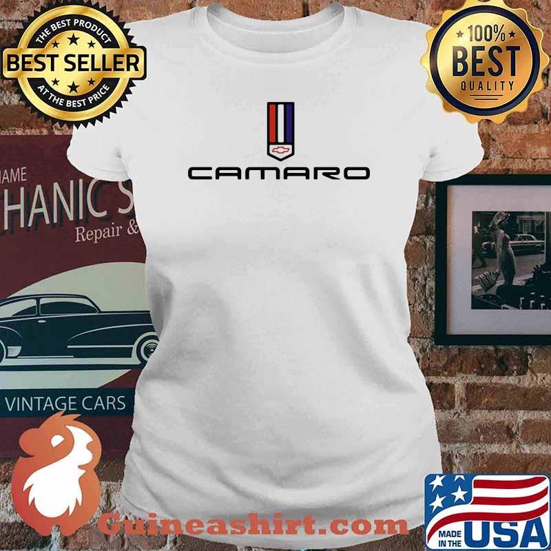 Chevy Camaro Logo Shirt Ladies tee