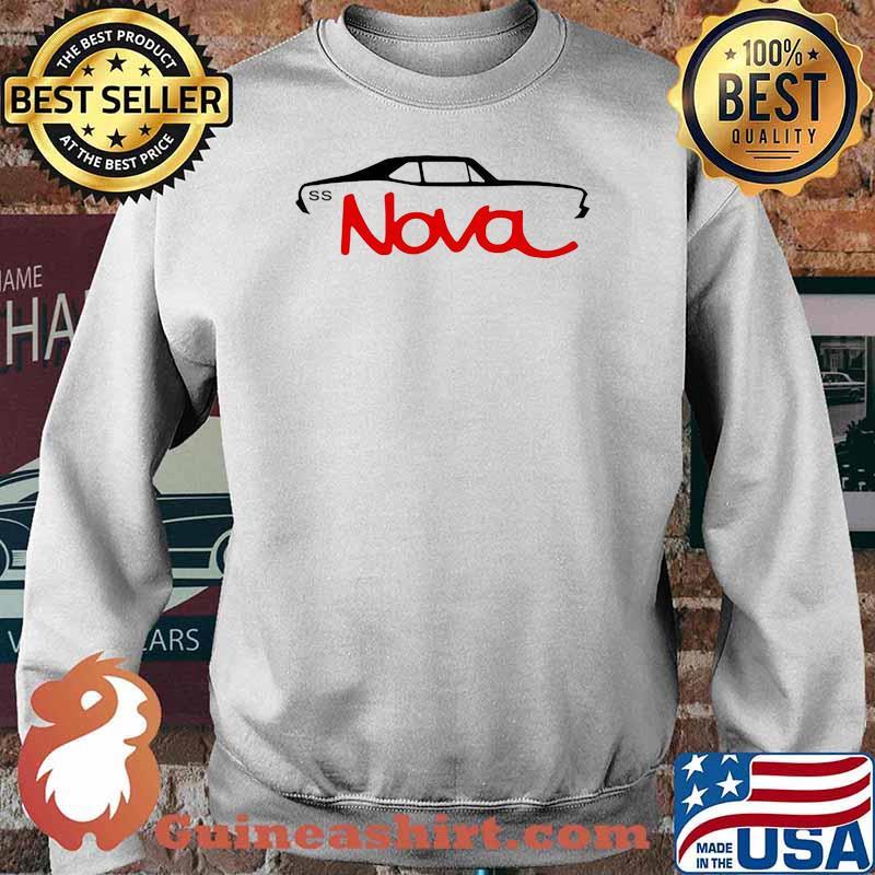 Chevy Nova Ss Car Shirt Sweater