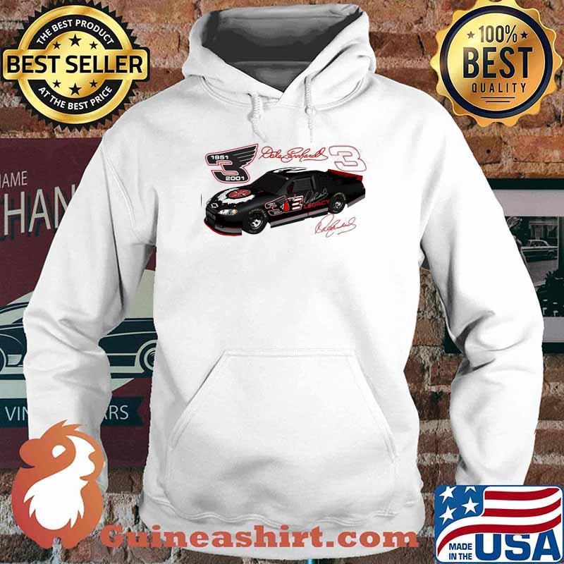 Dale Earnhardt Signature Nascar 1951 2001 Shirt Hoodie