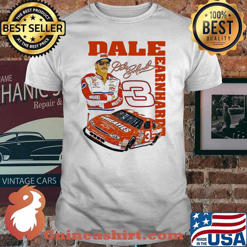 Dale Earnhardt Signature Nascar Shirt