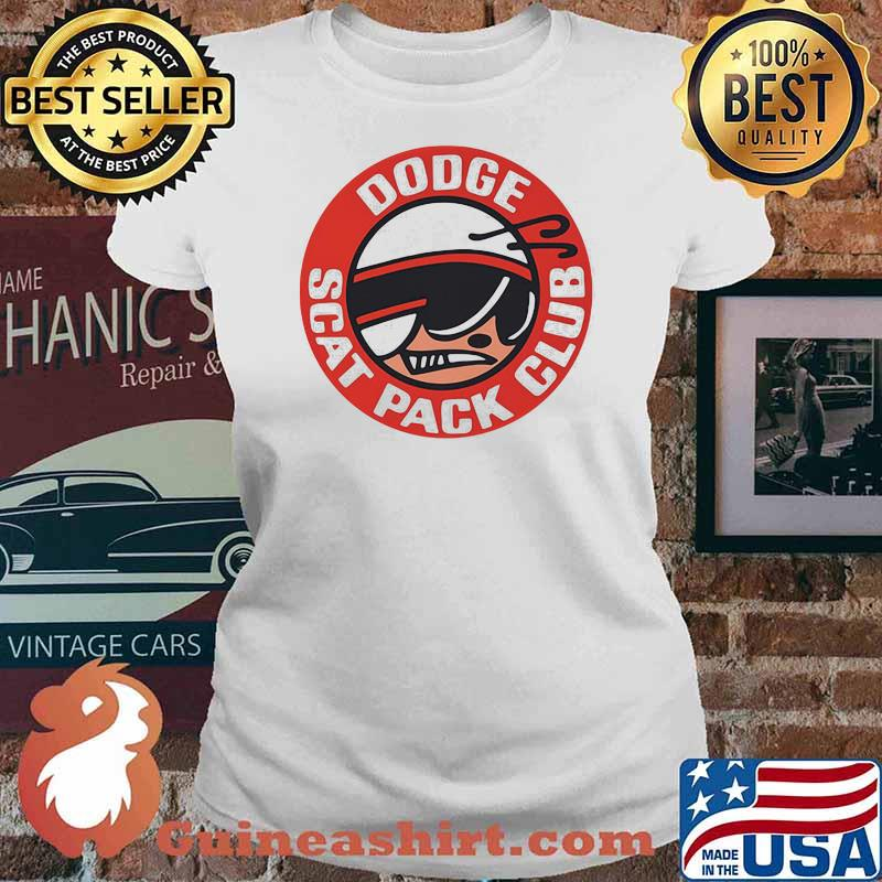 Dodge Scat Pack Club Super Bee Charger Shirt Ladies tee