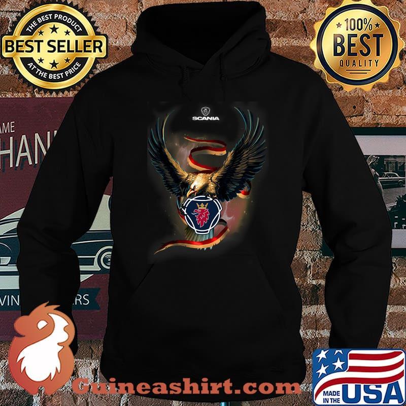 Eagle With Scania Logo Shirt Hoodie