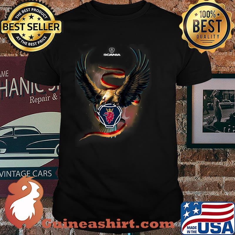 Eagle With Scania Logo Shirt