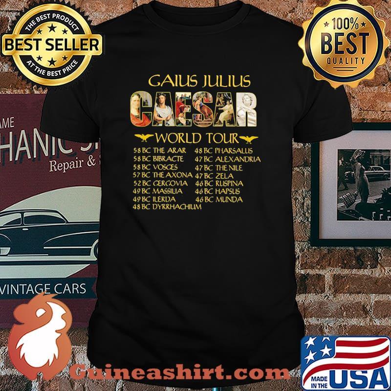 Gaius Julius Caesar World Tour Shirt