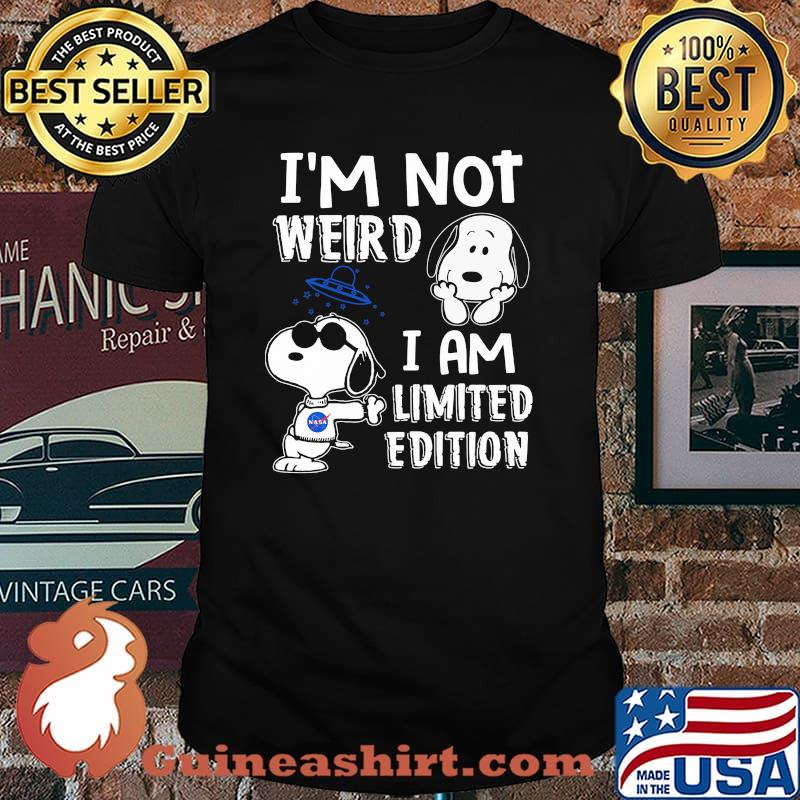 Im Not Weird I Am Limited Edition Snoopy Shirt