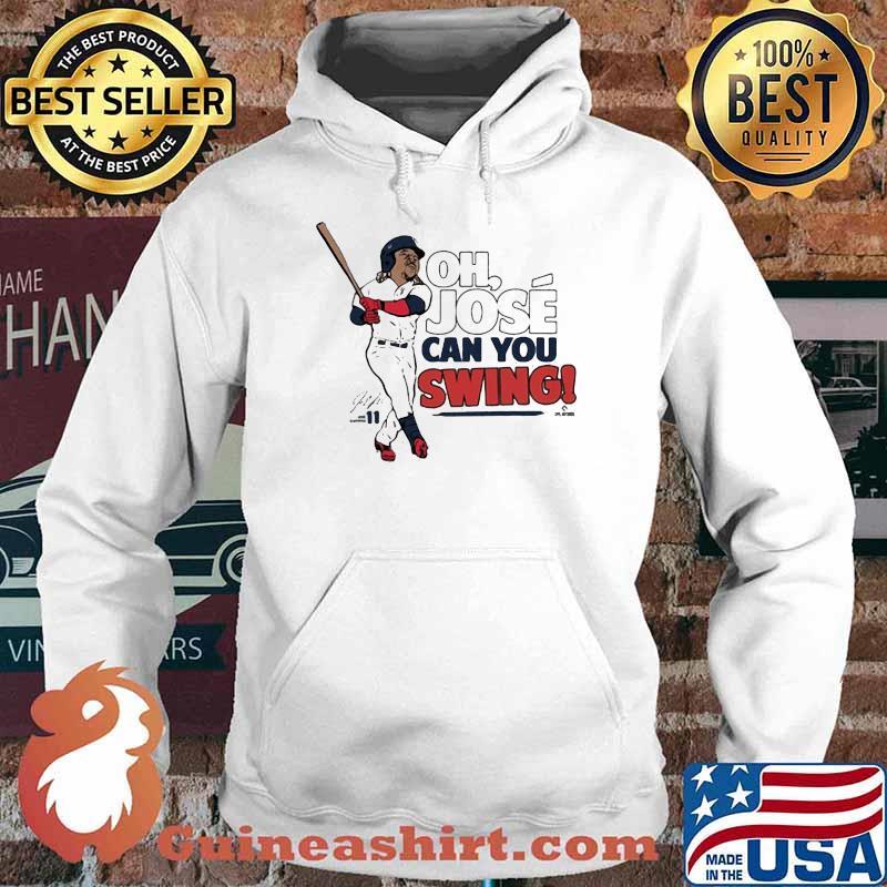 Official José Ramirez Mlbpa Can You Swing Shirt Hoodie