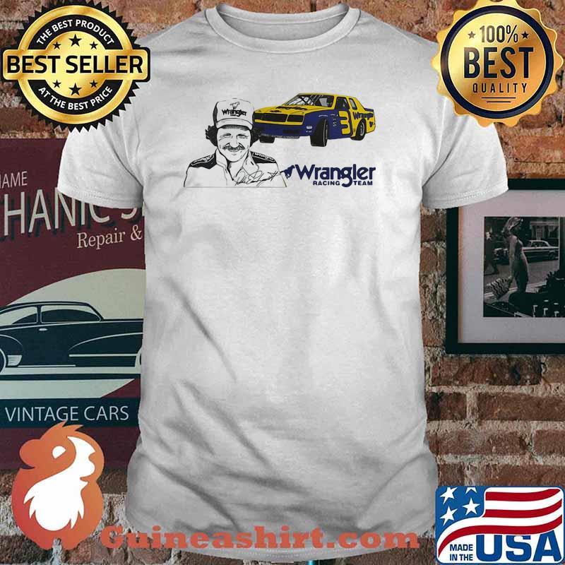 Official Wrangler Racing Team Shirt