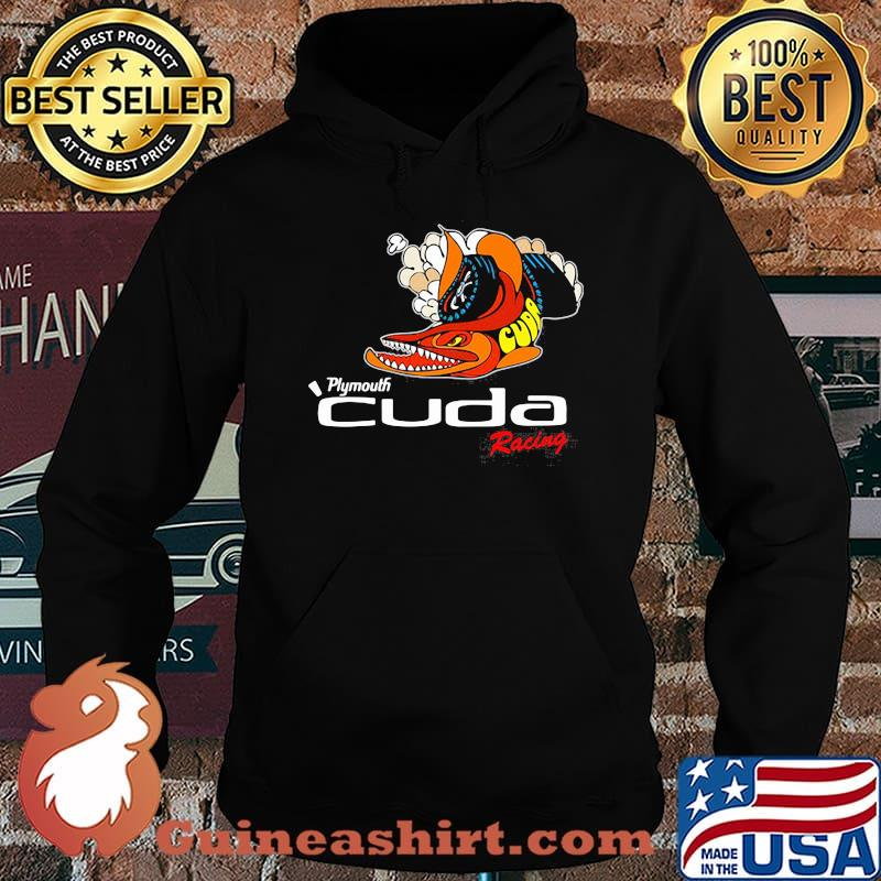 Plymouth Cuda Racing Logo Shirt Hoodie