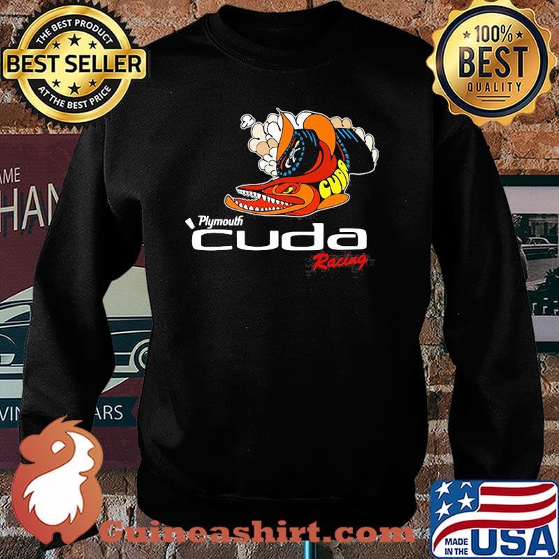 Plymouth Cuda Racing Logo Shirt Sweater