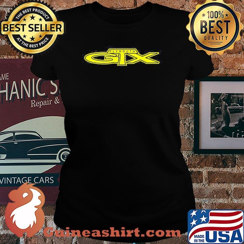Plymouth Gtx Logo Shirt Laides tee