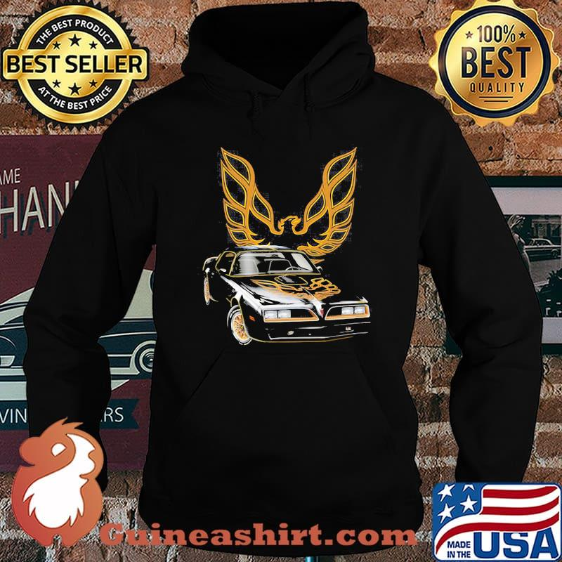 Pontiac Black With Trans Am Logo Shirt Hoodie