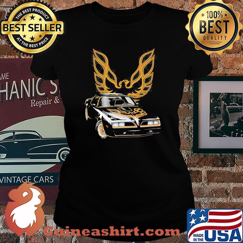 Pontiac Black With Trans Am Logo Shirt Laides tee