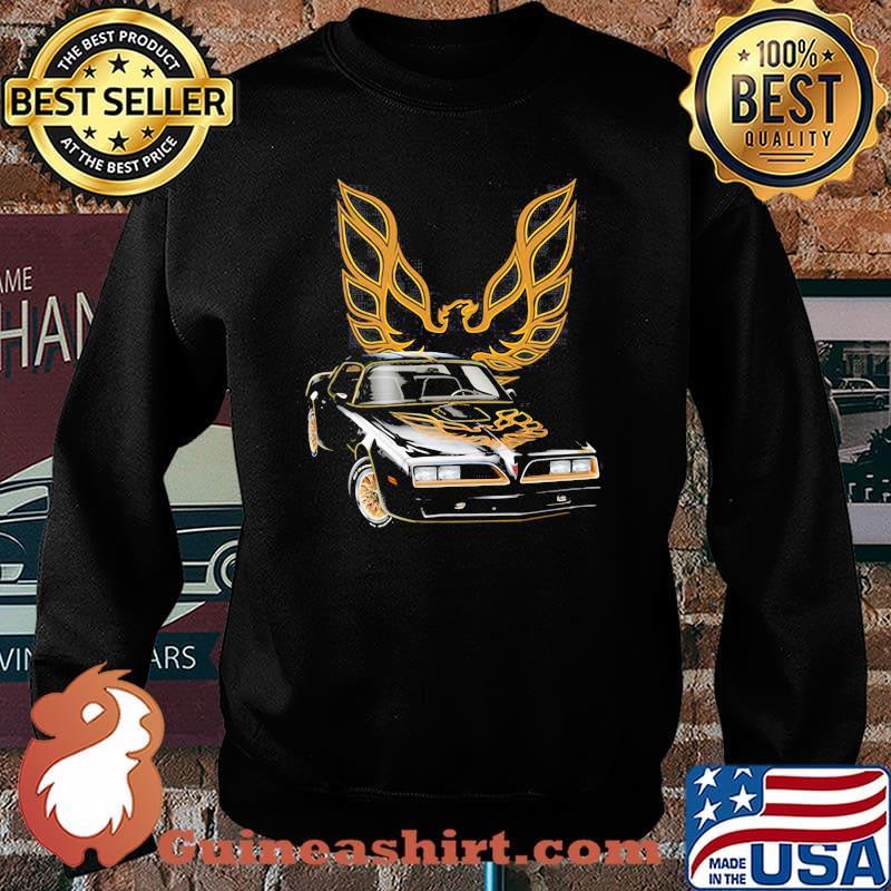 Pontiac Black With Trans Am Logo Shirt Sweater