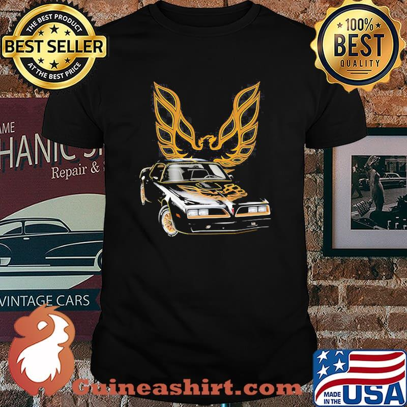 Pontiac Black With Trans Am Logo Shirt