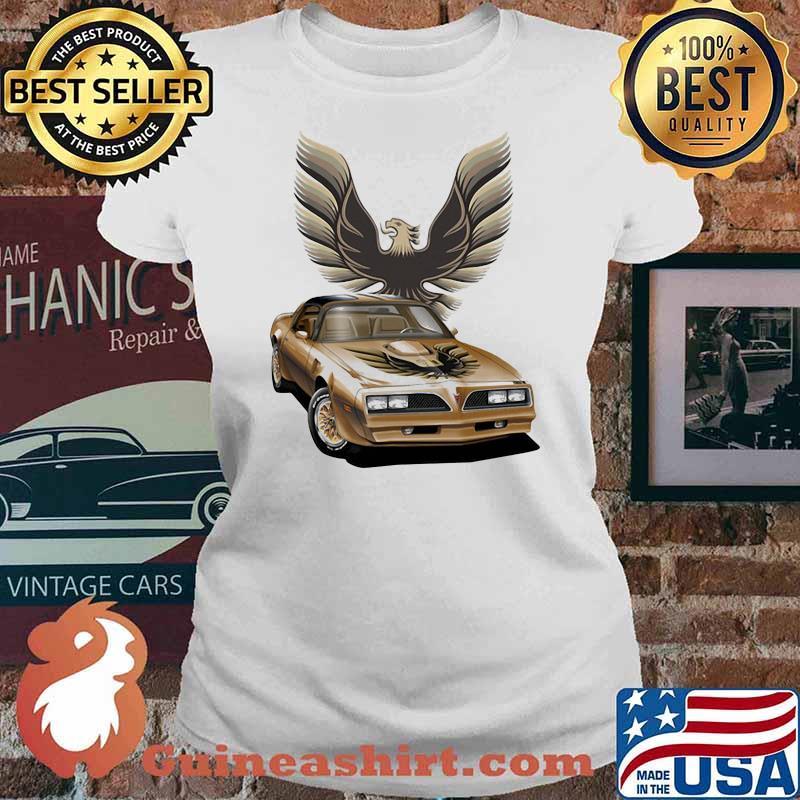 Pontiac Yellow Trans Am Shirt Ladies tee