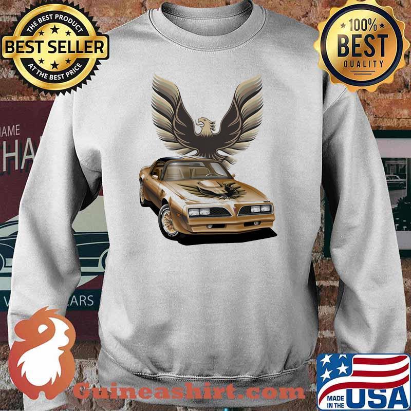 Pontiac Yellow Trans Am Shirt Sweater