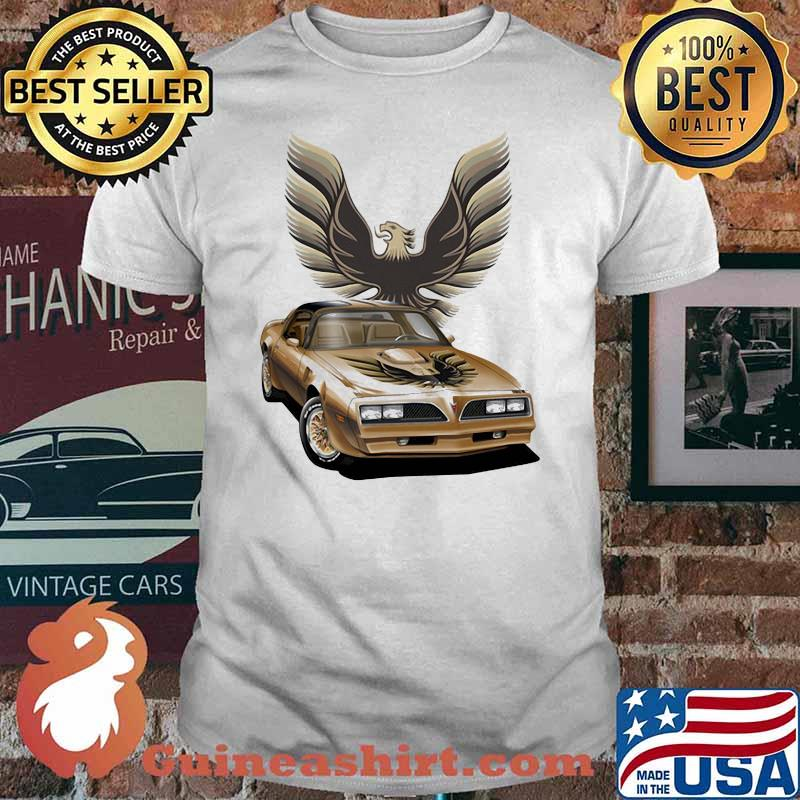 Pontiac Yellow Trans Am Shirt