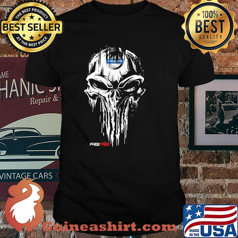 Punisher With Volvo Fh16 750 Logo Shirt