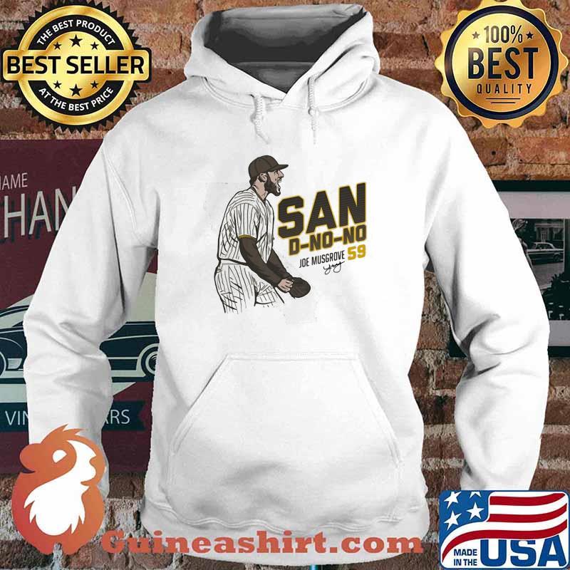 San D No No Joe Musgrove Baseball Player Spotlight Shirt Hoodie