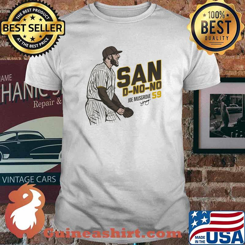 San D No No Joe Musgrove Baseball Player Spotlight Shirt