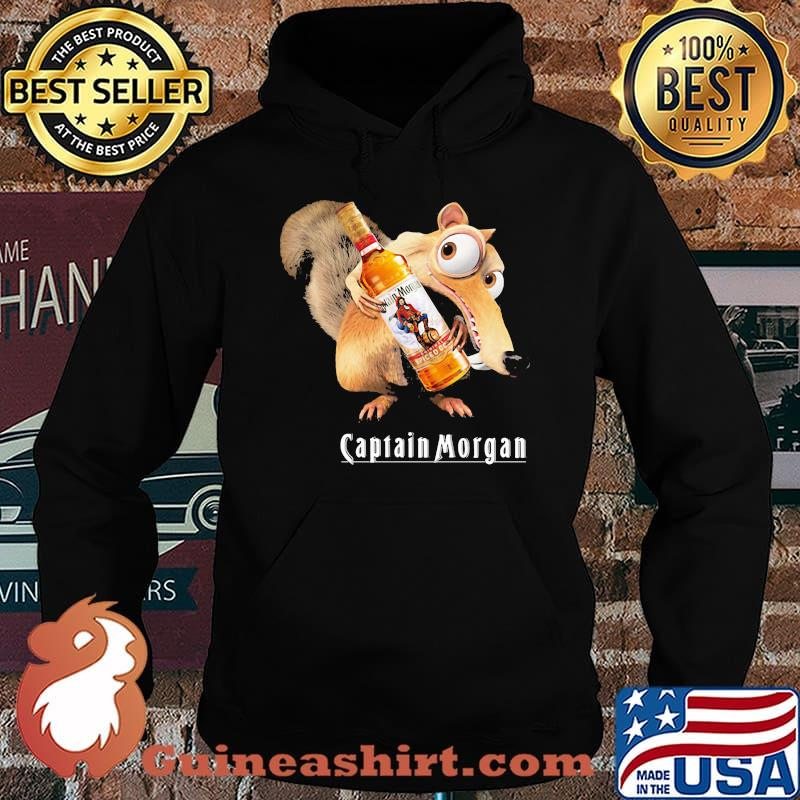 Scrat Do Chris Wedge Holding Captain Morgan Logo Shirt Hoodie