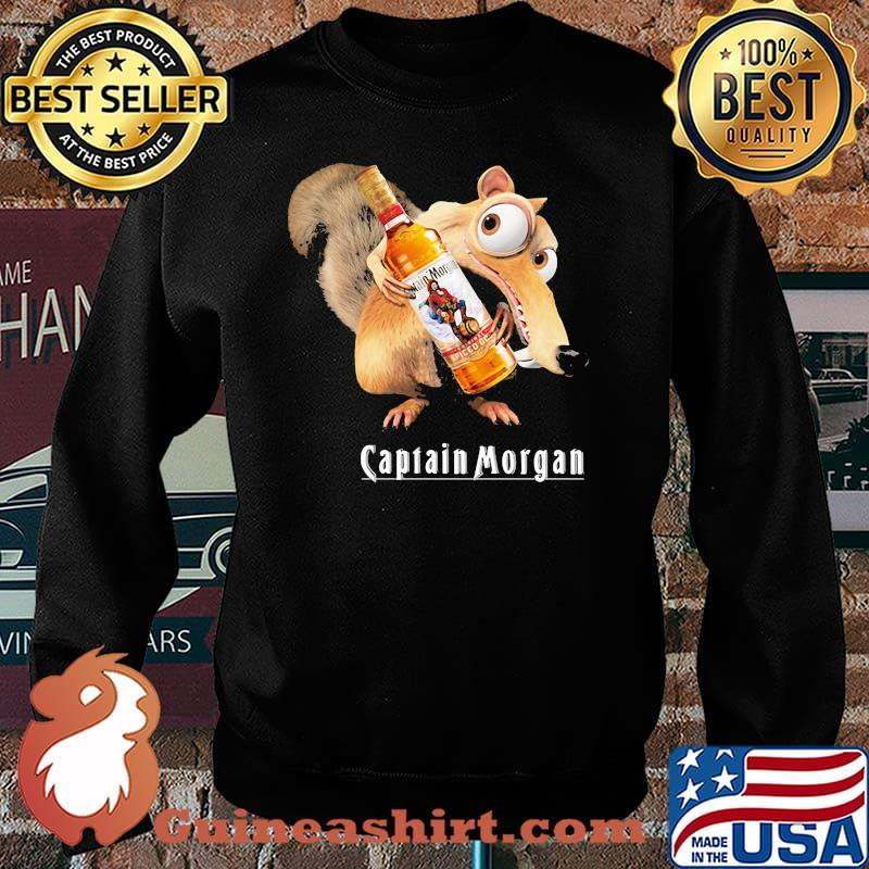 Scrat Do Chris Wedge Holding Captain Morgan Logo Shirt Sweater