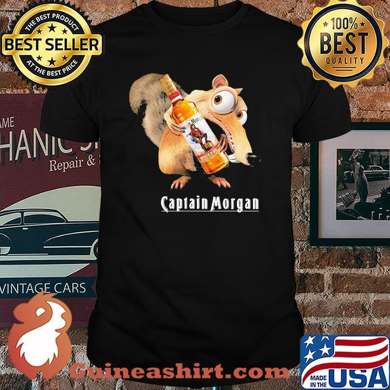 Scrat Do Chris Wedge Holding Captain Morgan Logo Shirt