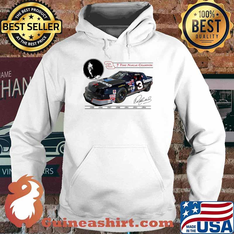 Seven Time Nascar Champion Goodwrench Signature Shirt Hoodie