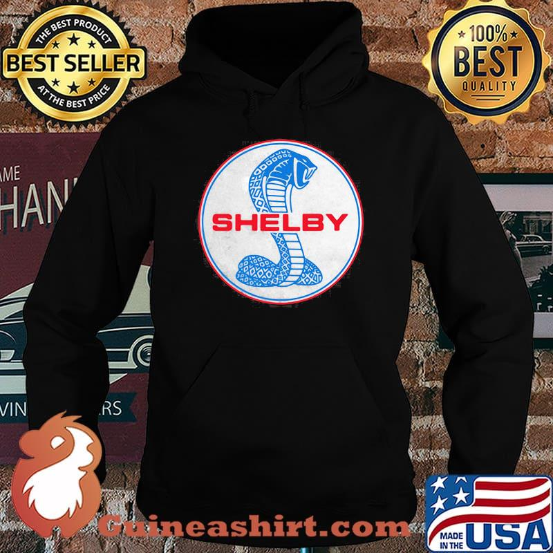 Shelby Blue And Red Logo Shirt Hoodie
