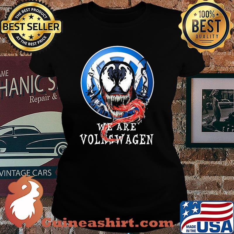 Skull We Are Volkswagen Shirt Laides tee