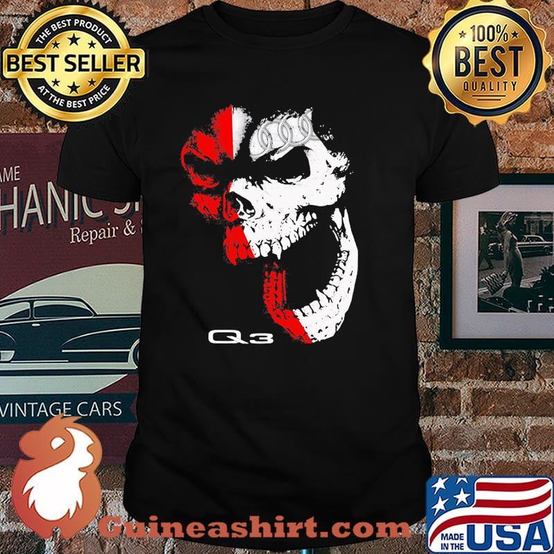 Skull With Audi Q3 Logo Shirt