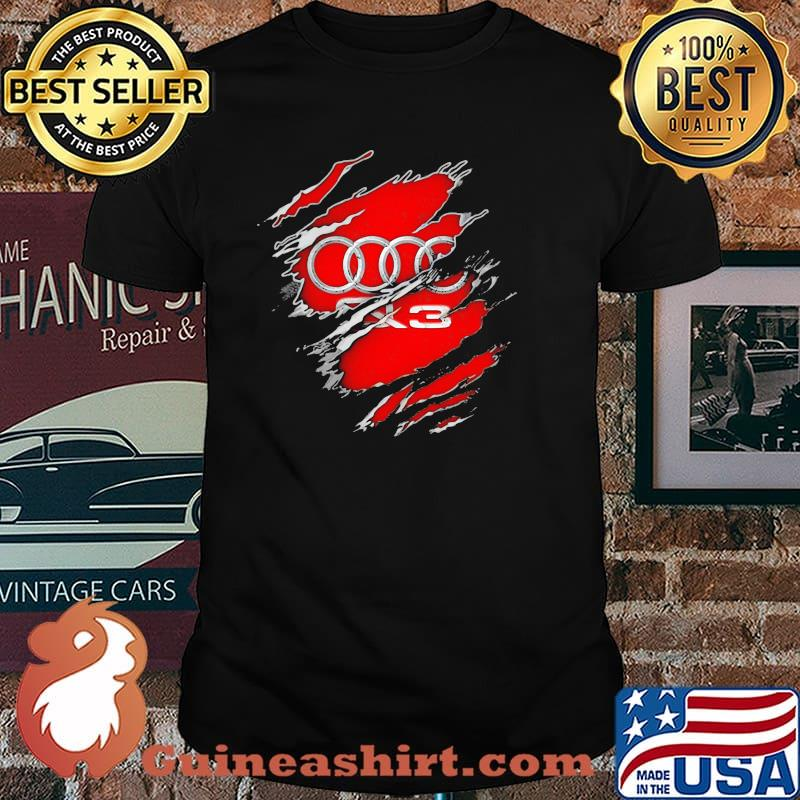 Superhero With Audi Q13 Logo Shirt