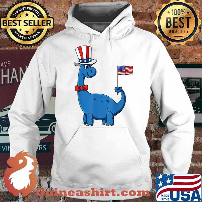 T Rex American Flag 4th Of July Funny Dinosaur Uncel Sam American Flag Shirt Hoodie