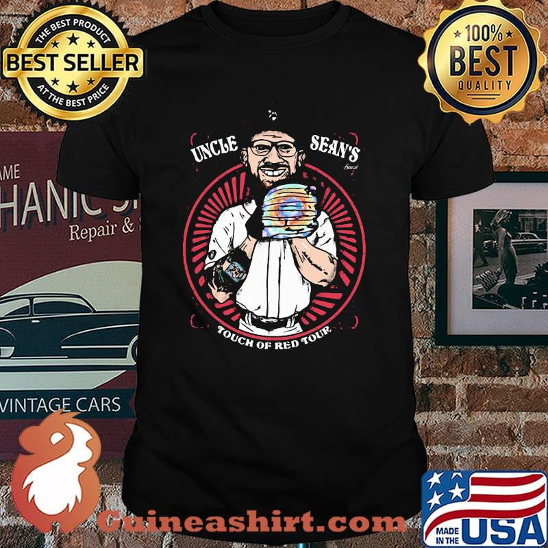 Uncle Sean Doolittle Touch Of Red Tour Baseball Shirt