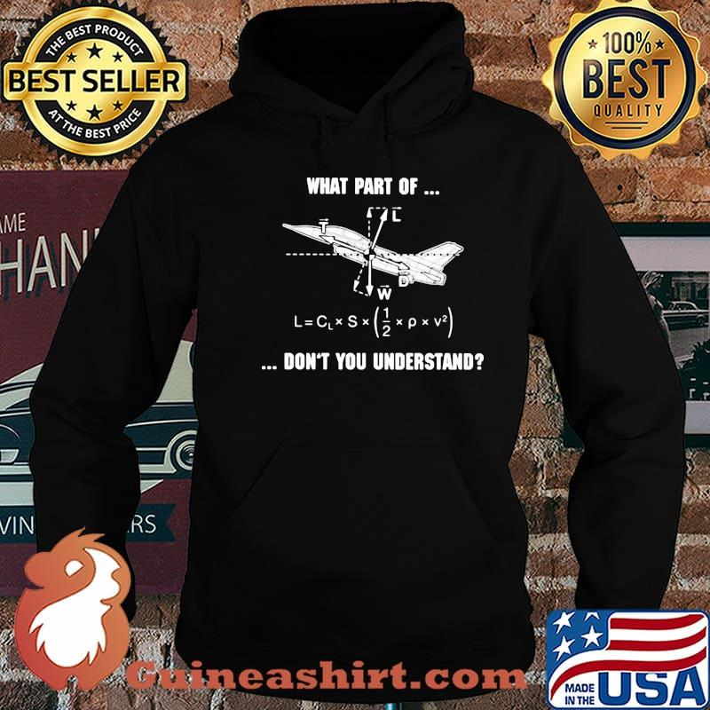 What Part Of Don't You Understand Pilot Shirt Hoodie