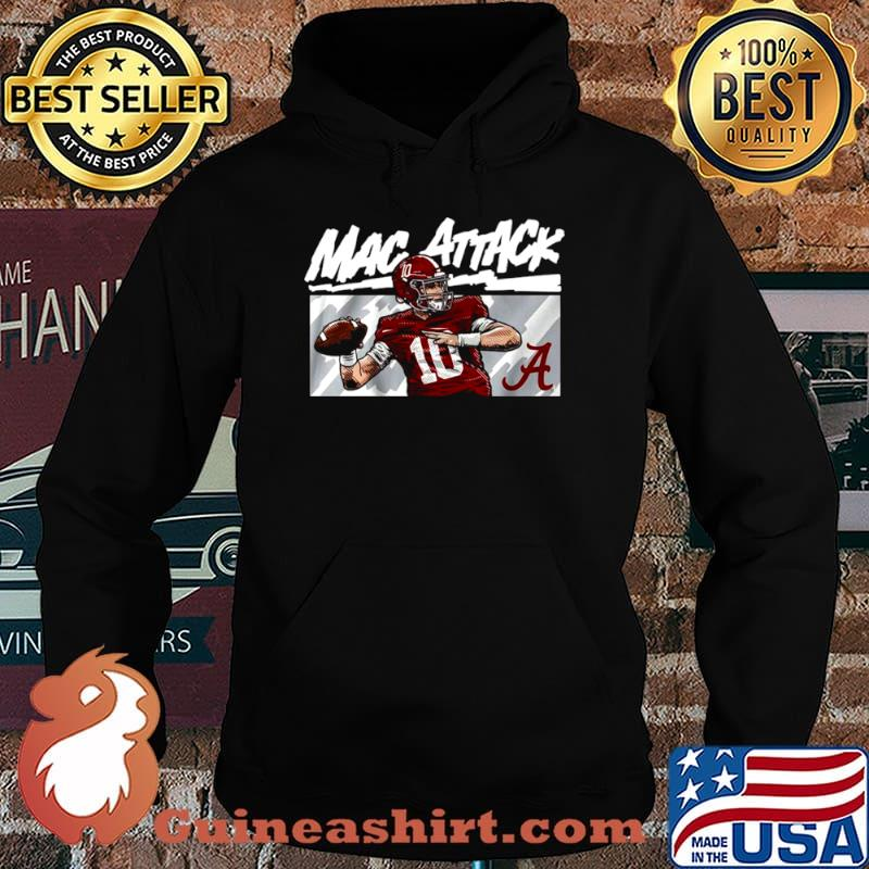 Alabama Football Mac Jones Football Hoodie