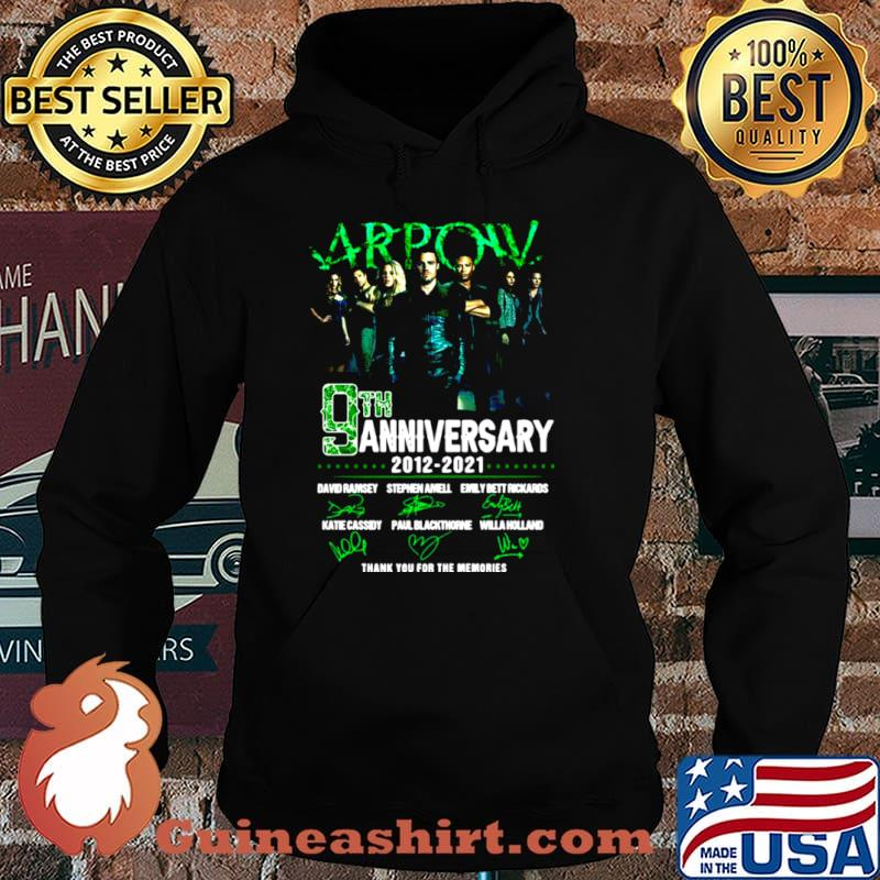 Arpow 9th anniversary 2012 2021 thank you for the memories signatures Hoodie