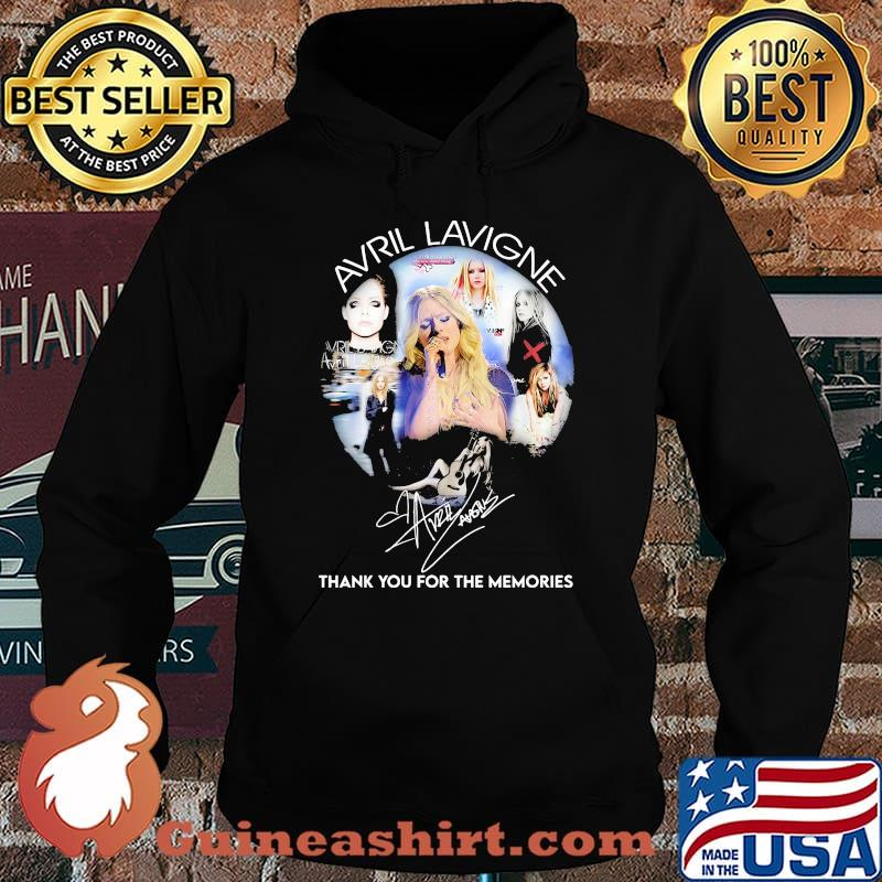 Avril Lavigne Thank You For The Memories Signature Shirt Hoodie