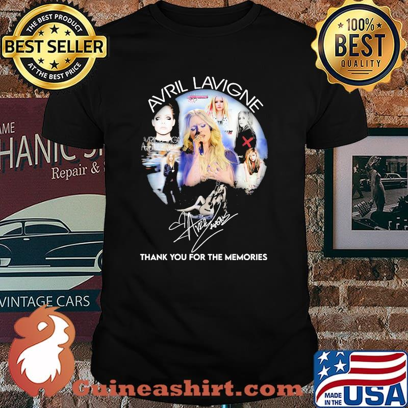 Avril Lavigne Thank You For The Memories Signature Shirt
