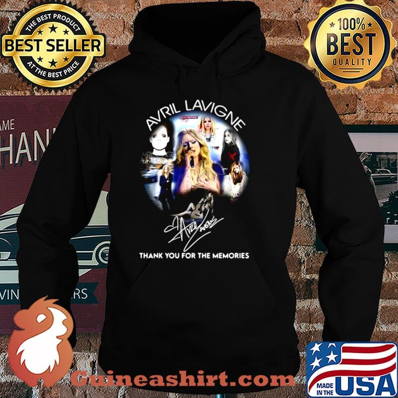 Avrl Lavigne Thank You For The Memories Hoodie